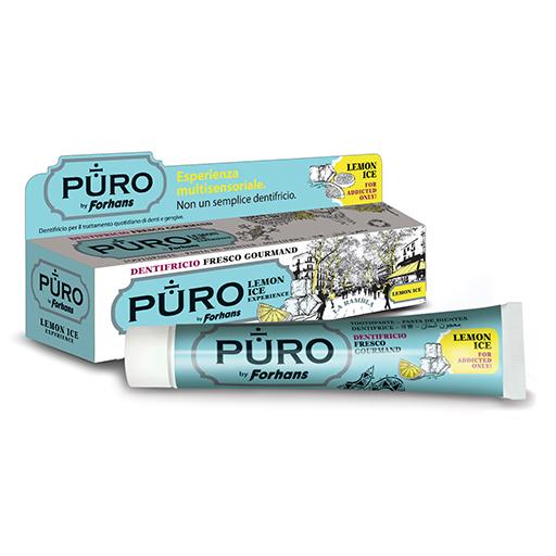 Dentifricio Puro by Forhans Lemon Ice | Forhans Prodotti per l'igiene orale